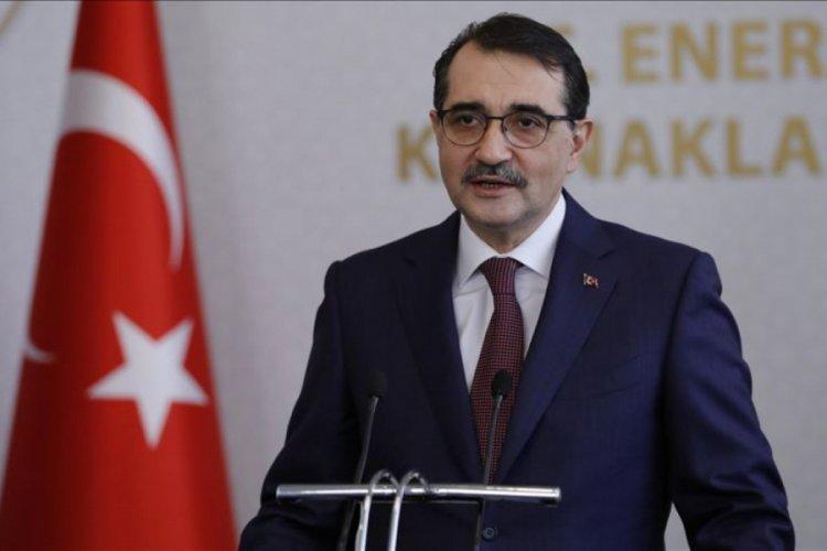 Enerji Bakanı Dönmez'den heyecanlandıran paylaşım