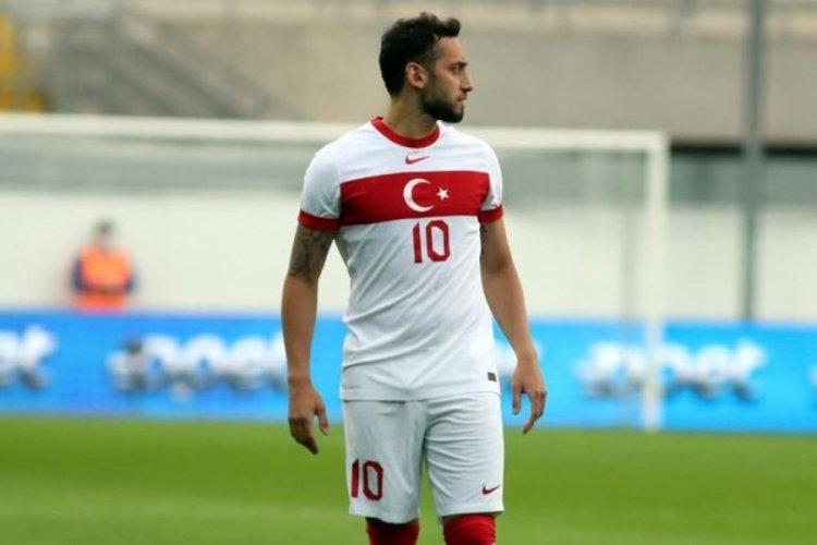 Hakan Çalhanoğlu İtalya maçı için iddialı