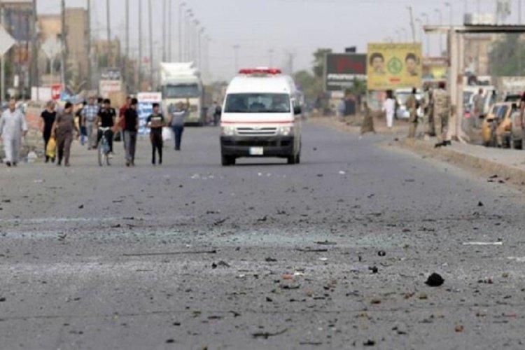 Irak'ta patlama! Ölü ve yaralılar var