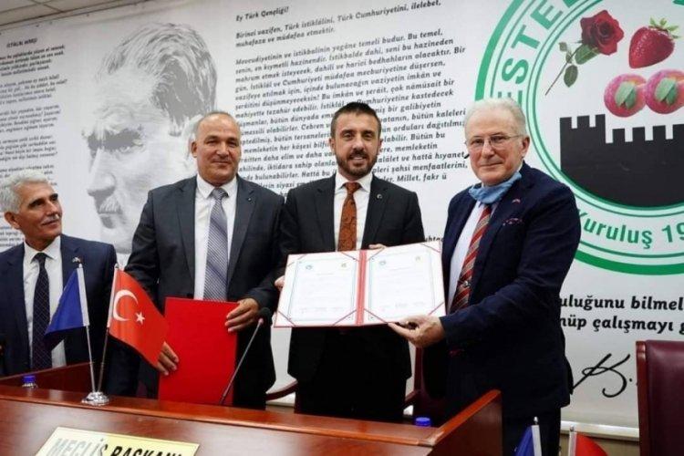 Bursa'dan Kosova'ya kardeşlik köprüsü kuruldu