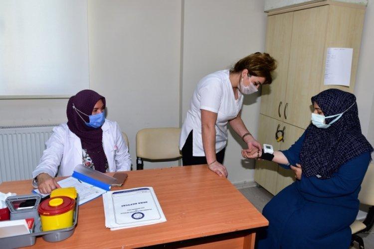 Bursa Yıldırım'dan kadınlara sağlık taraması