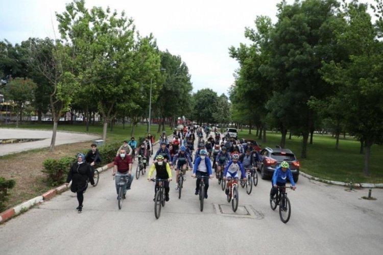 Bursa İnegöl Belediyesi'nden Dünya Bisiklet Gününe özel etkinlik