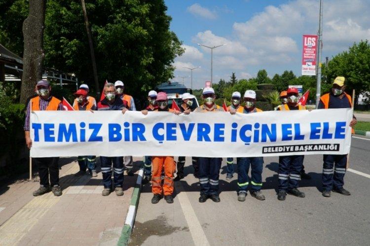 Bursa Mustafakemalpaşa'da 5 Haziran Dünya Çevre Günü kutlandı