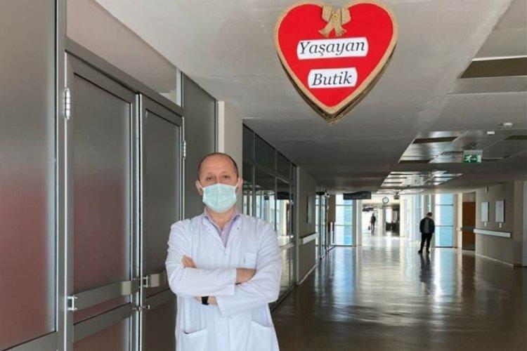 """Bursa İnegöl Devlet Hastanesinden """"Yaşayan Butik"""" hizmeti"""