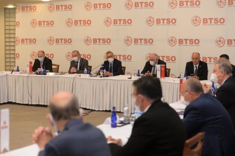 Bursa Ticaret ve Sanayi Odası, İYİ Parti heyetini ağırladı