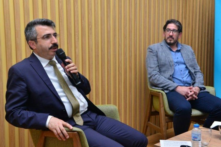 Bursa Yıldırım Belediye Başkanı Yılmaz uluslararası öğrencilerle buluştu