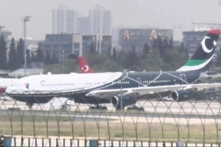 Kaddafi'nin uçağı bakım için İstanbul'da