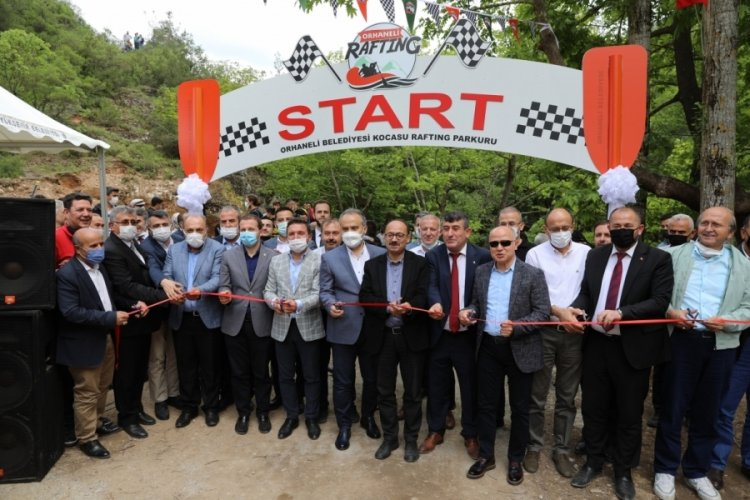 Marmara'nın rafting parkuru Bursa Orhaneli'de açıldı