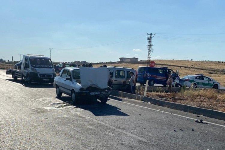 Gaziantep'te kaza: 5 yaralı