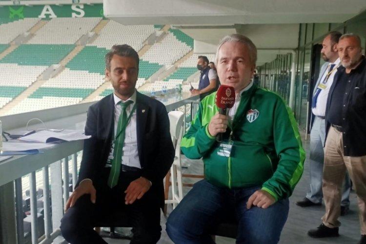 """""""Stadın isim hakkını kimse almazsa ben alacağım!"""" Emin Adanur, Bursada Bugün'e konuştu! (ÖZEL HABER)"""