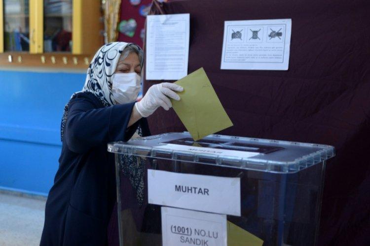 Bursa'da bugün seçim var