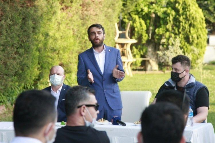 Orhangazili Bursasporlular'dan Adanur'a kutlama