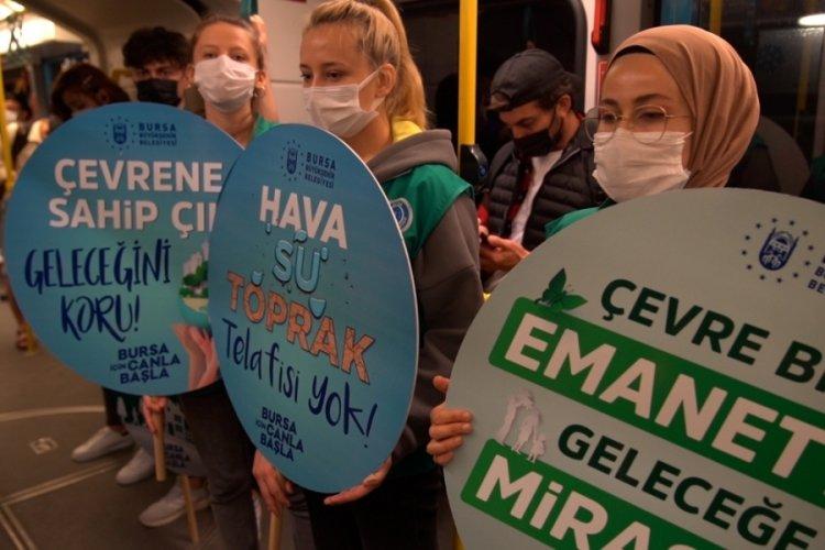 Bursa'da gönüllüler çevre için yollarda