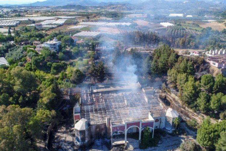 Antalya Serik'teki yangın söndürüldü