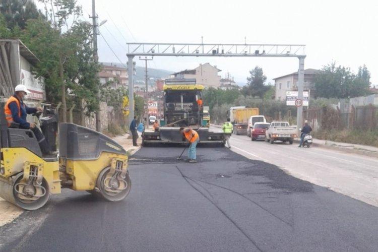 Bursa Orhangazi'de altyapı bitti sıra üst yapıda