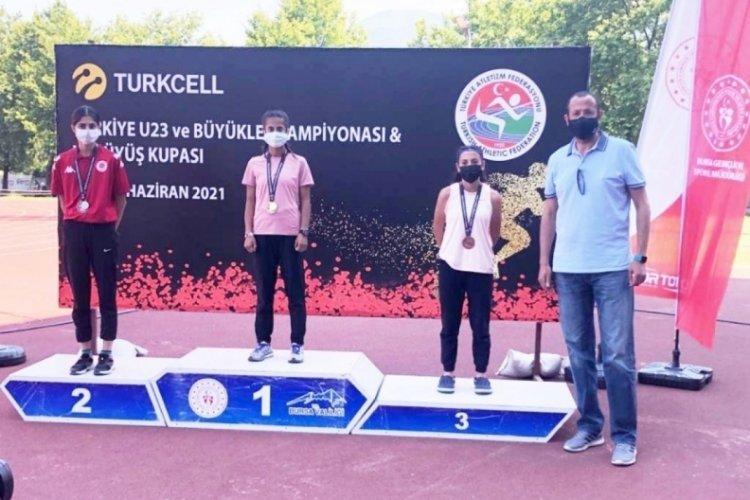10 bin metre pist yürüyüşte şampiyon oldu
