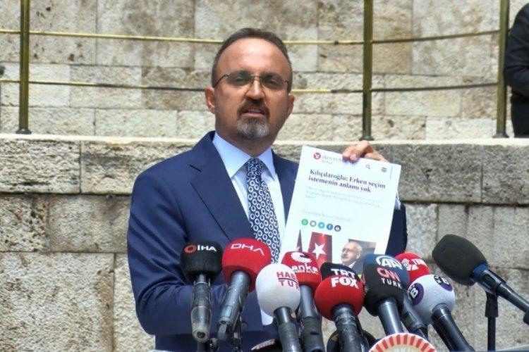 AK Parti'li Turan: Meclis'i planlanmış yapıların sözcüsü haline getirmeyeceğiz