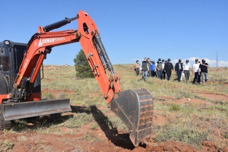 Aksaray'da 200 bin fidan toprakla buluşuyor