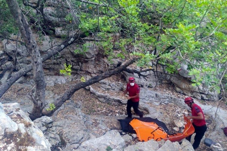 Antalya'da Likya Yolu'nda erkek cesedi bulundu
