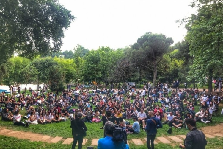 Redd grubu, Maçka Parkı'nda konser verdi