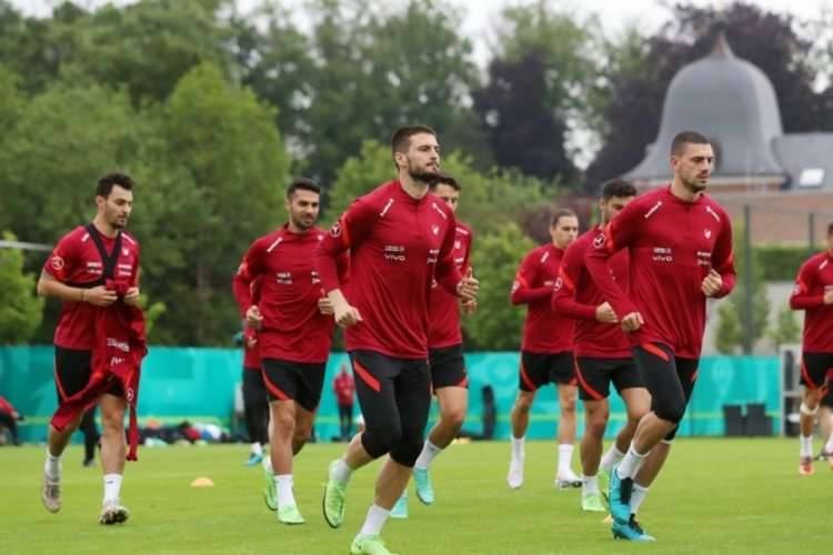 A Milliler, İtalya maçı hazırlıklarını sürdürdü