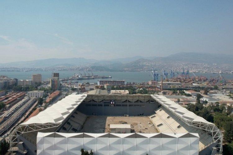 İzmir Alsancak Stadyumu açılıyor