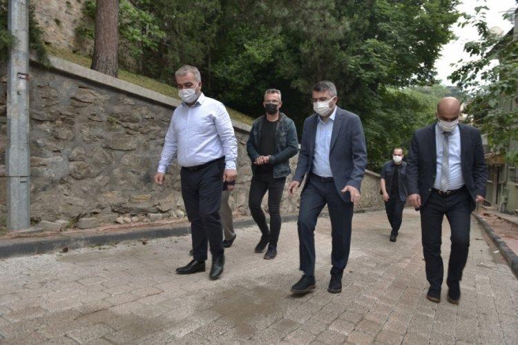Bursa Yıldırım Belediye Başkanı Yılmaz'dan Yeşil'de inceleme