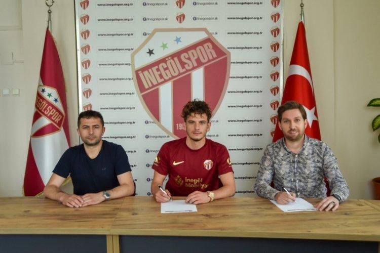 İnegölspor, Ersel Aslıyüksek ile 2 yıllık sözleşme imzaladı