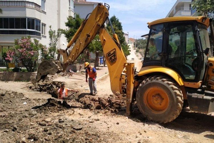 Kanalizasyon çalışmaları askıya alındı