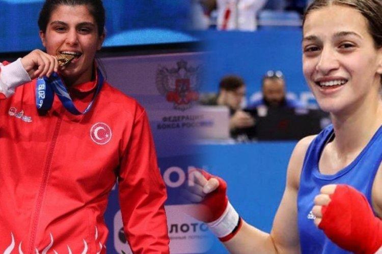 Buse Naz Çakıroğlu ve Busenaz Sürmeneli'den altın madalya