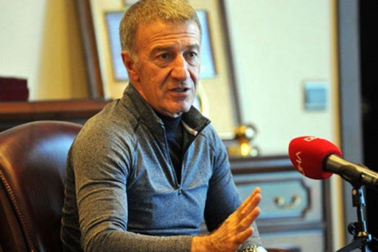 Ahmet Ağaoğlu: Avrupa'nın gözü Trabzonspor'un üzerinde