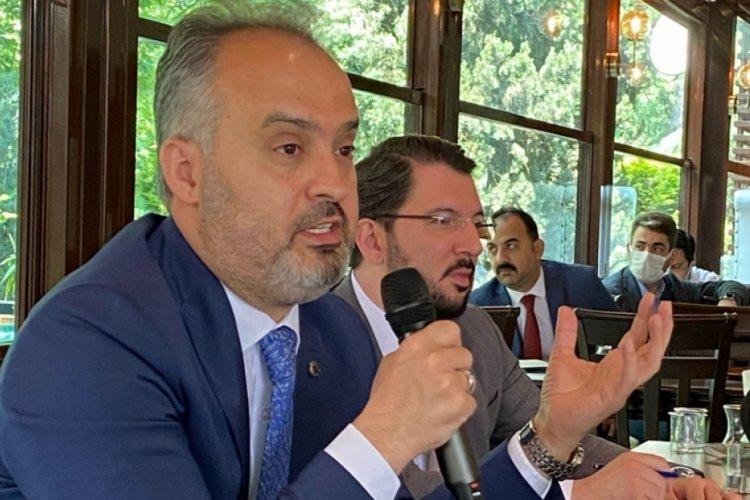 Bursa Büyükşehir Belediye Başkanı Alinur Aktaş'tan Bursaspor açıklaması!