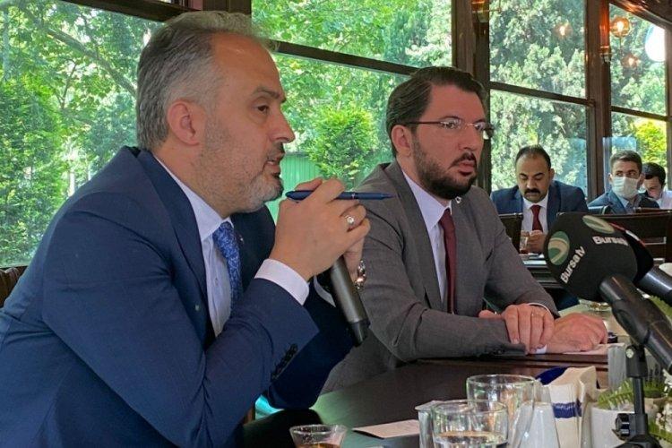 """Bursa Büyükşehir Belediye Başkanı Alinur Aktaş'tan Mustafa Bozbey açıklaması! """"Bu köprünün altından çok sular akar"""""""