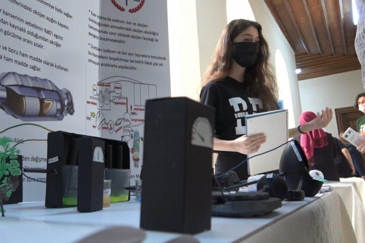 Bursa Erkek Lisesi TÜBİTAK 4006 Bilim Fuarını açtı