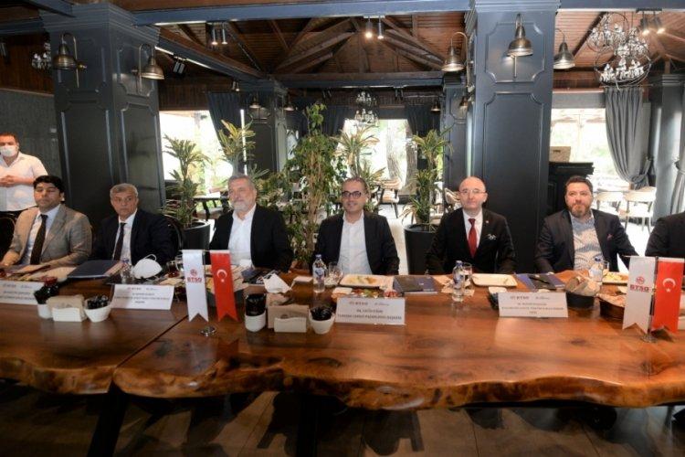 Bursa Ticaret ve Sanayi Odası ve Turkish Cargo'dan hava kargoda iş birliği