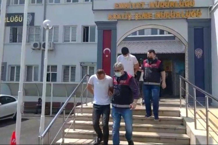 Bursa'da 350 bin liralık hırsızlık yapan 5 kişi gözaltında!