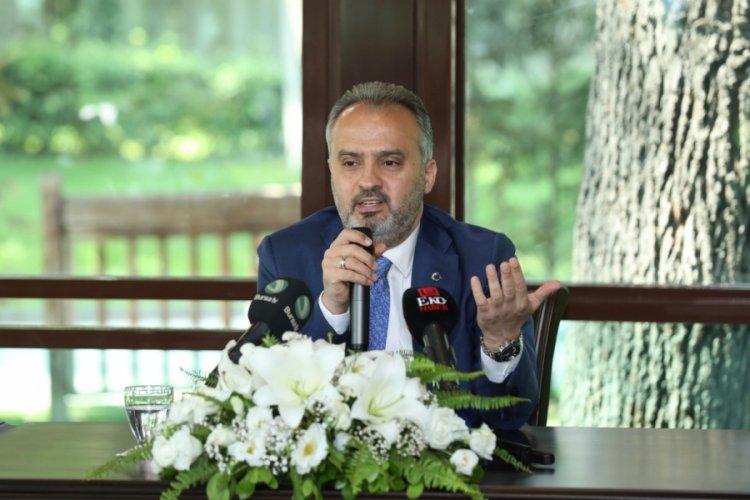 Bursa Büyükşehir Belediye Başkanı Aktaş: Emlakçılık değil, kentsel dönüşüm yapacağız