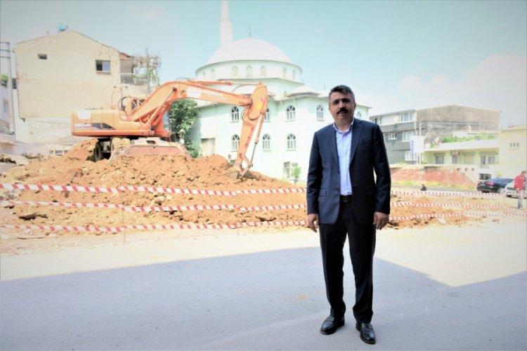 Bursa Yıldırım Belediye Başkanı Yılmaz, Helvalıpınar Camii için tarih verdi