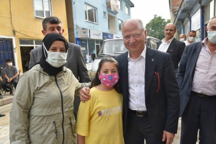 AK Parti İl Başkanı Gürkan'dan Orhaneli mesaisi