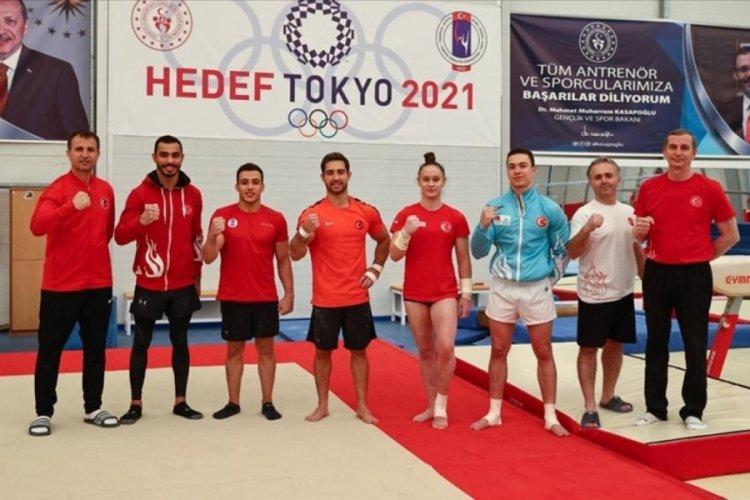 Milli cimnastikçiler Tokyo Olimpiyatları'nda madalya kovalayacak