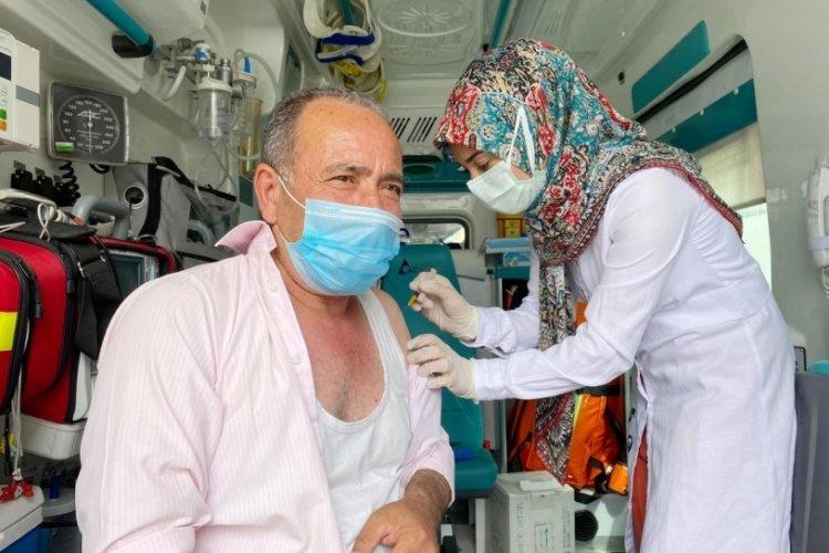 Mobil aşı timleri görev başında