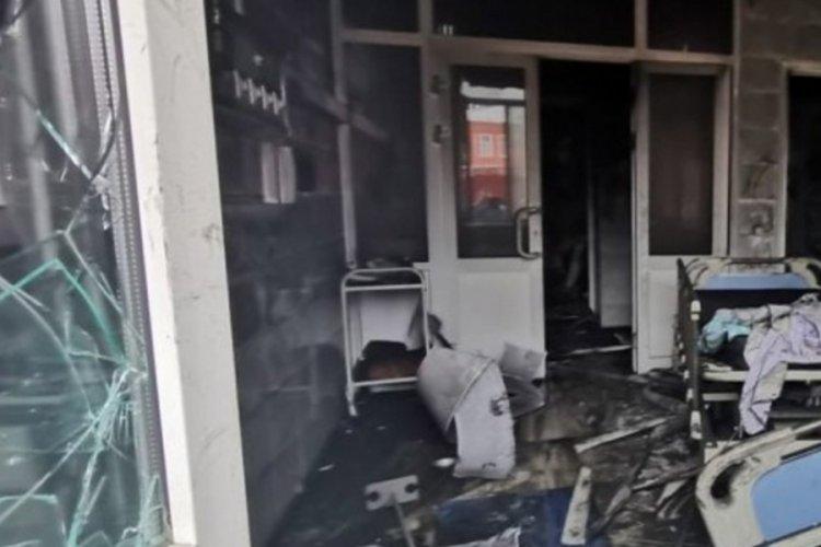 Rusya'da pandemi hastanesinde yangın çıktı: 3 ölü