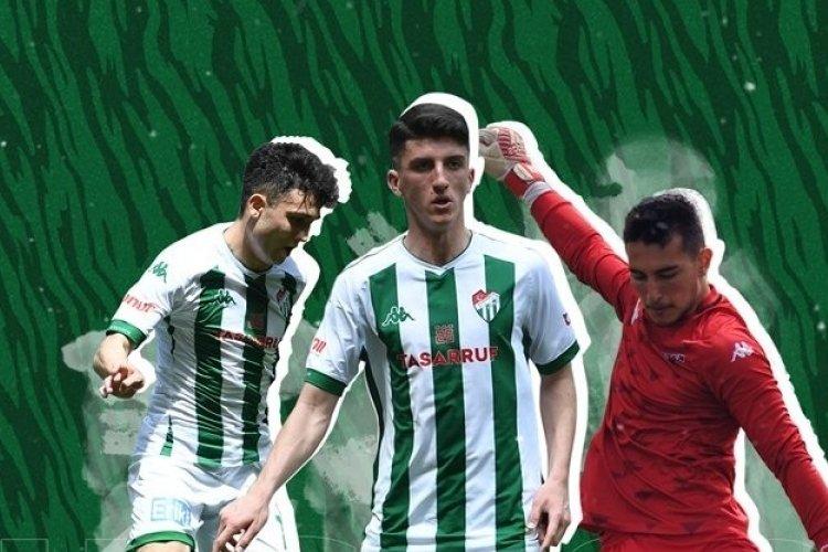 Bursaspor'dan U18 Milli Takımı'na üç oyuncu davet edildi