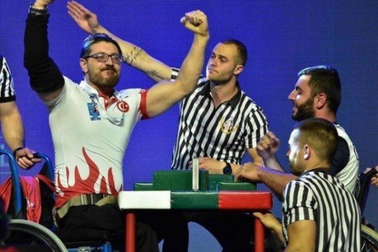 Güreşçi Gökhan Seven, şampiyonluğa hazırlanıyor
