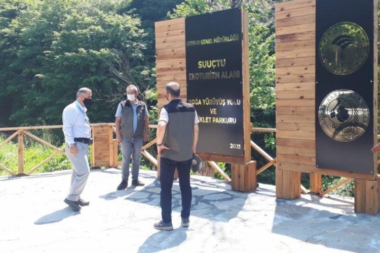 Bursa Suuçtu eko turizm projesine yakın takip