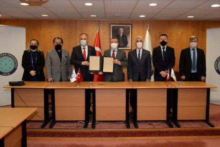 Bursa Uludağ Üniversitesi, Priştine Üniversitesi ile akademik işbirliği protokolü imzaladı