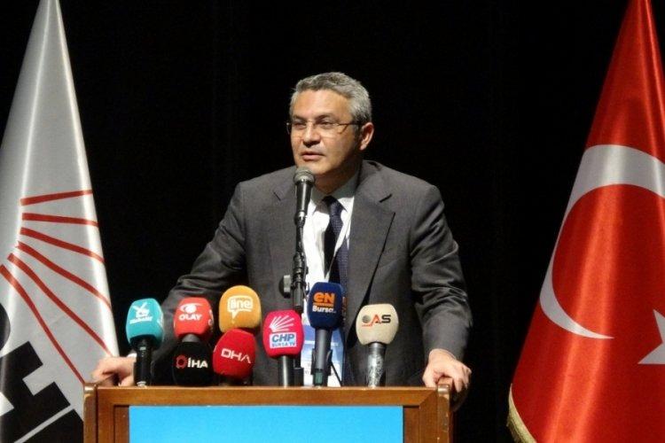 CHP'li Salıcı Bursa'da: Türkiye'nin hikayesini değiştirmeye talibiz
