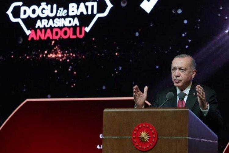 Cumhurbaşkanı Erdoğan'dan 'mankurt' çıkışı