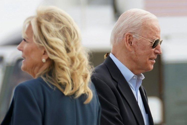 First Lady, Biden'ı kameralar önünde azarladı