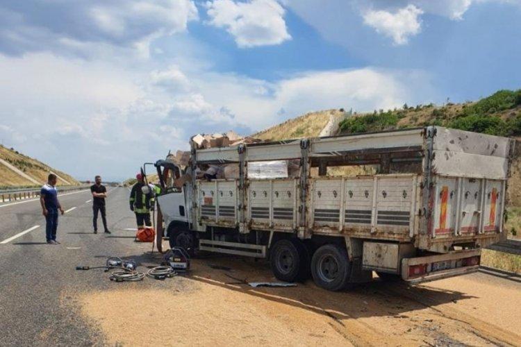 Manisa'da ölümlü kaza